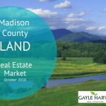 Madison County Land – Real Estate Market Update – Oct. 2018