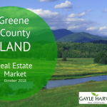 Greene County, VA Land – Real Estate Market Update – Oct. 2018