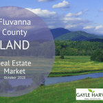 Fluvanna County, VA Land – Real Estate Market Update – Oct. 2018