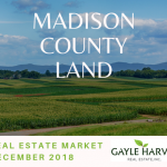 Madison County Land – Real Estate Market Update – Dec. 2018