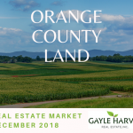 Orange County Land – Real Estate Market Update – Dec. 2018