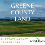 Greene County Land – Real Estate Market Update – Dec. 2018