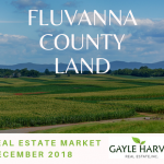Fluvanna County Land – Real Estate Market Update – Dec. 2018