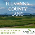 Fluvanna Land - Real Estate Market Update - Dec. 2018