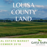 Louisa County Land – Real Estate Market Update – Dec. 2018